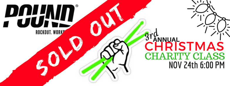 3rd annual christmas charity class sold